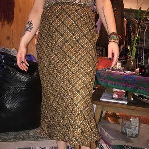 Vintage tweed skirt